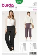 6492  Burda Pattern: Plus Size Women's Trousers